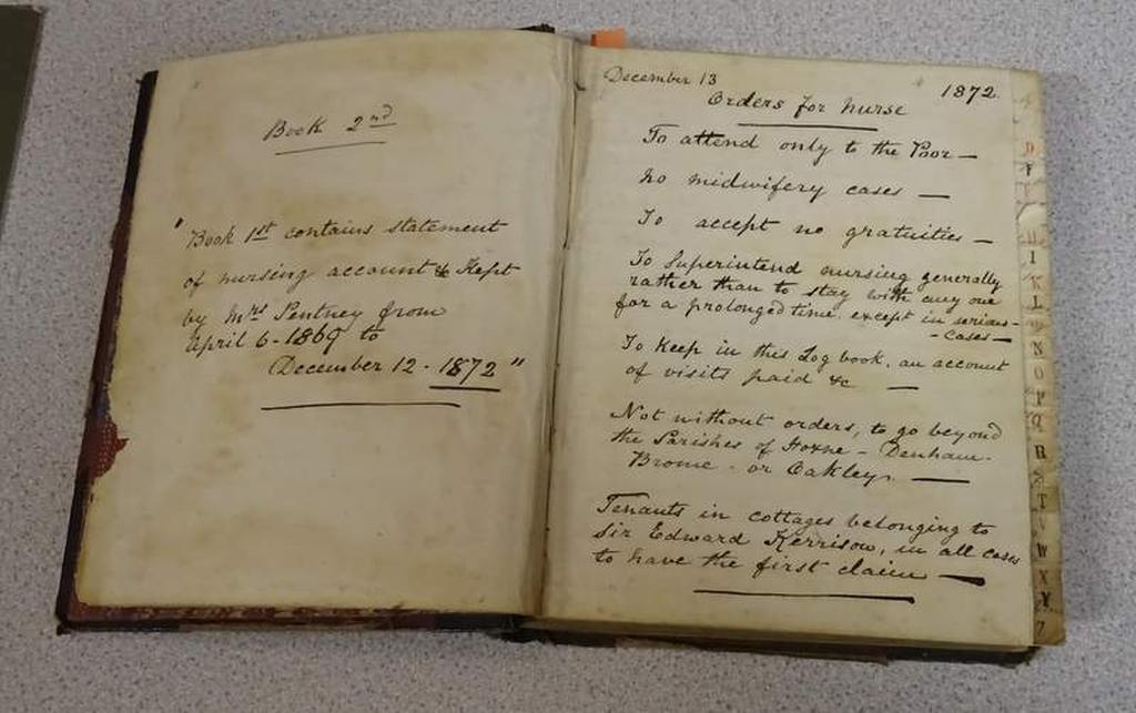 Hoxne - Harriet Pentney's journal